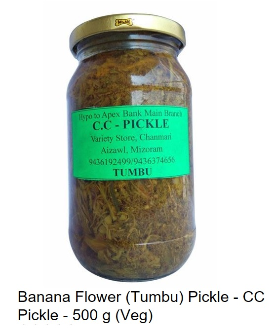Banana Flower (Tumbu) Pickle