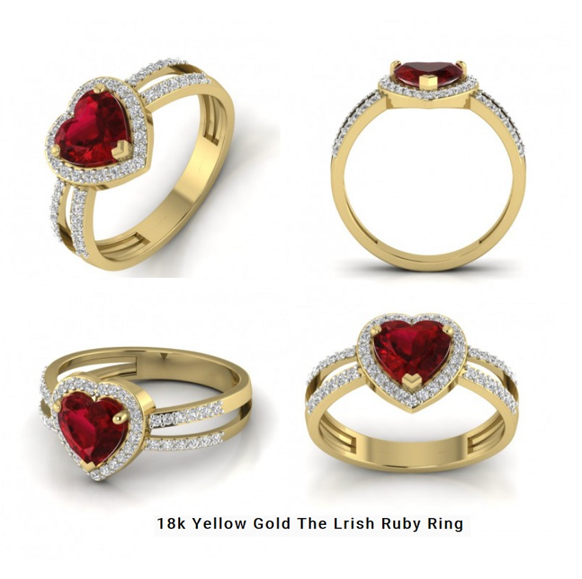 The Lrish Ruby Ring