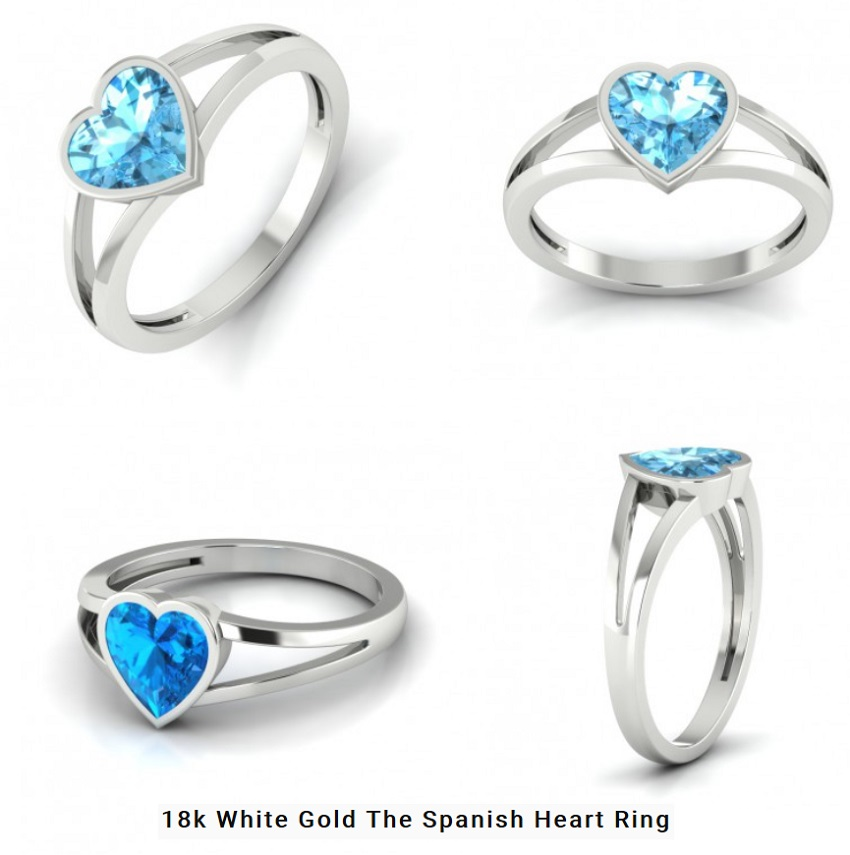 Spanish Heart Ring