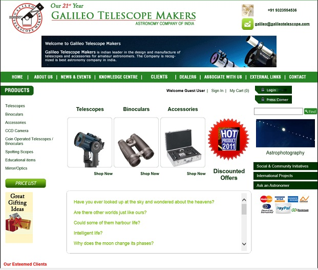 Galileo Telescope Makers