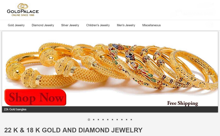 Gold Palace Jewelers Inc